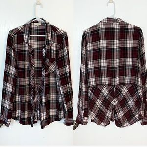 Beach lunch lounge large flannel top